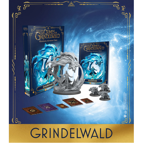 Harry Potter Miniatures Adventure Game: Gellert Grindelwald Expansion