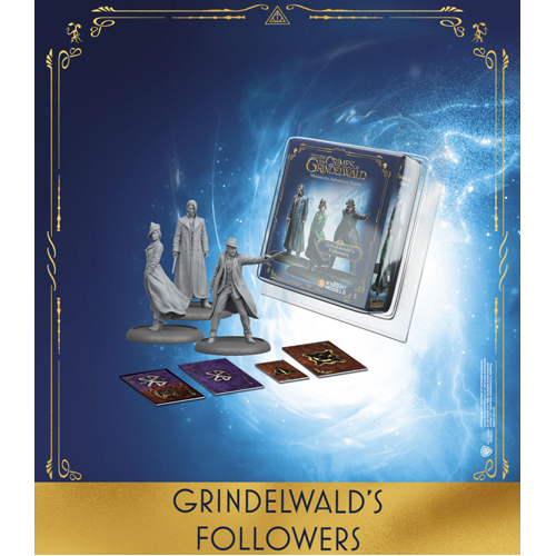 Harry Potter Miniatures Adventure Game: Grindelwald's Followers Expansion