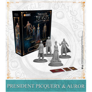 Harry Potter Miniatures Adventure Game: President Picquery & Aurors Expansion