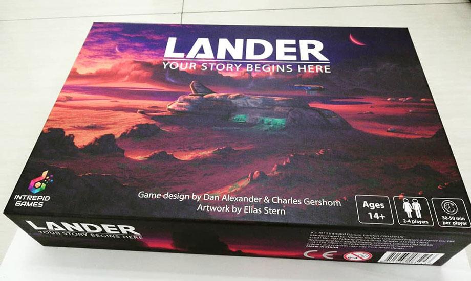 Intrepid Games - Lander Board Game