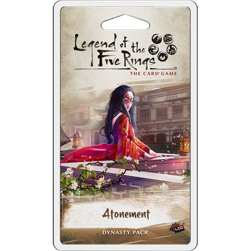 L5R LCG Atonement Dynasty Pack