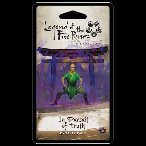 L5R LCG In Pursuit of Truth Dynasty Pack