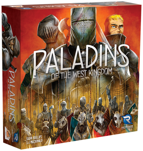 Paladins of the West Kingdom - Retail Edition