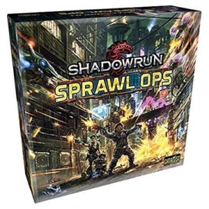 Shadowrun Sprawl Ops: 5 To 6 Player Expansion