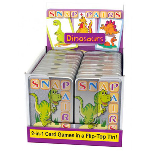 Snap and Pairs Dinosaurs