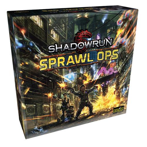 Sprawl Ops: A Shadowrun Board Game