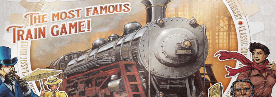 Ticket to Ride: 15th Anniversary Edition Revealed