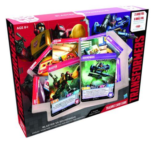 Transformers Trading Card Game Blaster vs Soundwave Deck