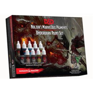 Underdark D&D Paint Set: Nolzur's Marvelous Pigments