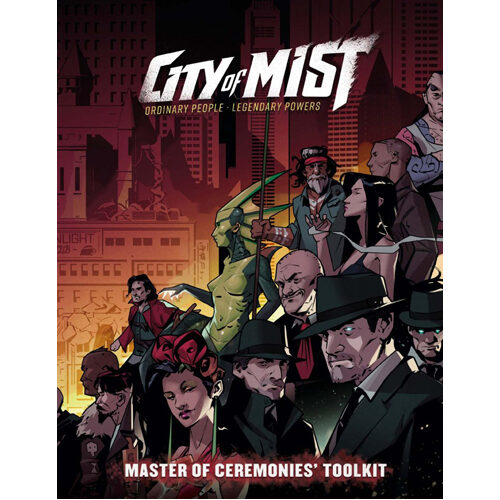 city of mist master of ceremonies toolkit