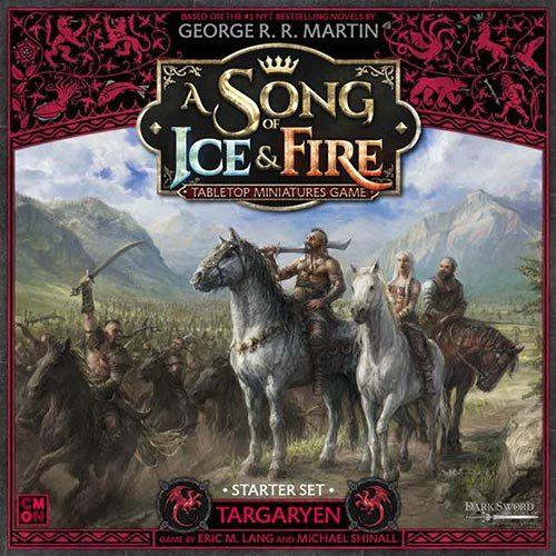 A Song Of Ice and Fire Core Box Targaryen Starter Set
