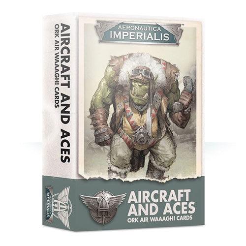 Aeronautica Imperialis Aircrft & Aces Ork Air Waaagh Cards
