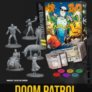 Batman Miniatures Game: Doom Patrol Bat-Box