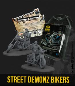 Batman Miniatures Game: Street Demonz Bikers