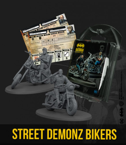 Batman Miniatures Game: Street Demonz Bikers