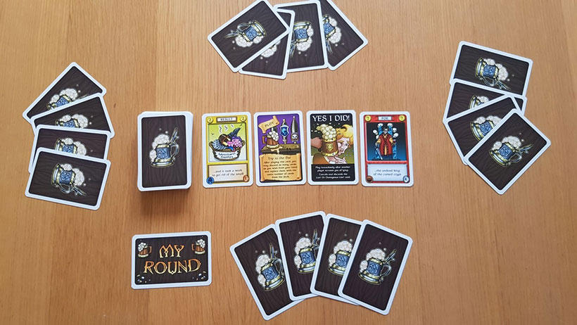 Braggart Review - Game Layout