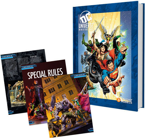 DC Universe Miniature Game Rulebook - Heroes Cover
