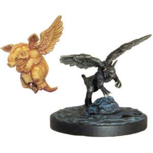 D&D Collector's Series Descent into Avernus Miniature: Lulu and Slobberchops