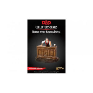 D&D Collector's Series Dungeon of the Mad Mage Miniature: Durnan of the Yawning Portal