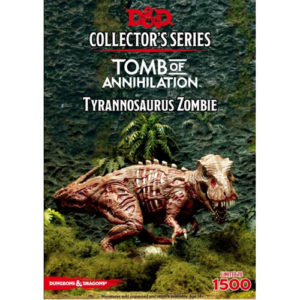 D&D Collector's Series Tomb of Annihiliation Miniature: Tyrannosaurus Zombie