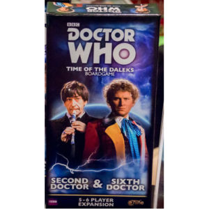Doctor Who Time of the Dalek: Second Doctor and Sixth Doctor Expansion
