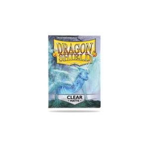 Dragon Shield Matte NonGlare: Clear 100 In Box