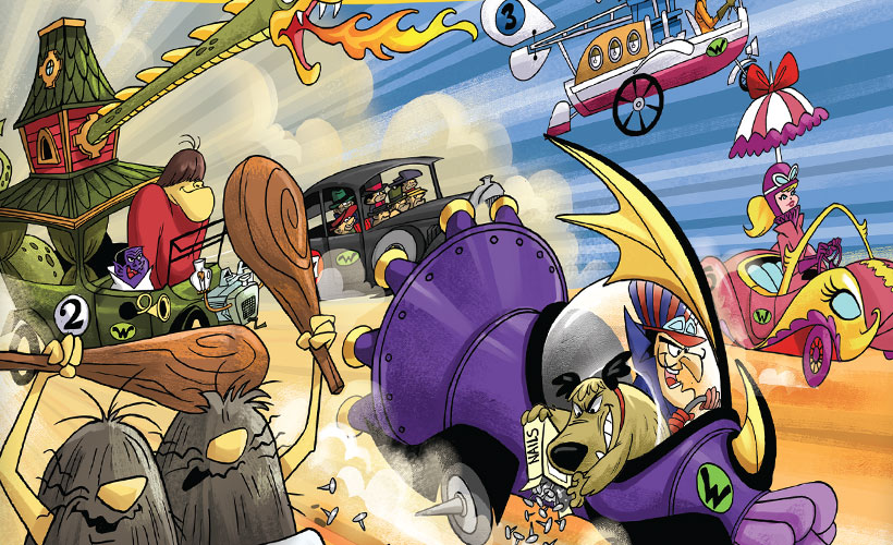 Games of the Month - Wacky Races