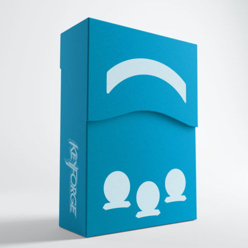 Keyforge Aries Deck Box: Blue