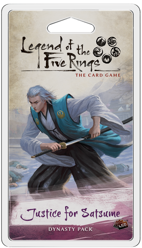 L5R LCG: Justice for Satsume Dynasty Pack