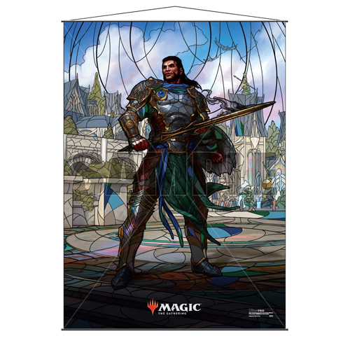 MTG: Gideon Stained Glass Wall Scrolls