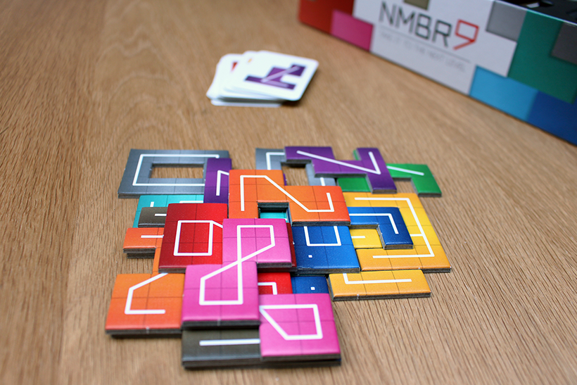 NMBR 9 Review - Game Components