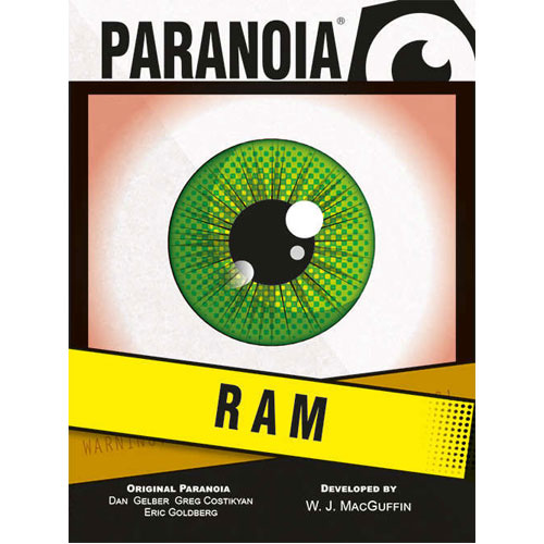 Paranoia: The RAM Deck