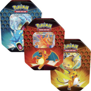 Pokemon TCG: Hidden Fates Tin - Set of 3