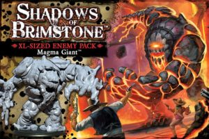 Shadows of Brimstone Expansion: Magma Giant - XL Enemy Pack
