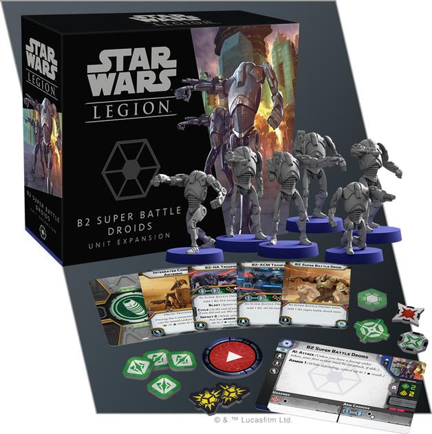 Star Wars Legion Expansion: B2 Super Battle Droids Unit