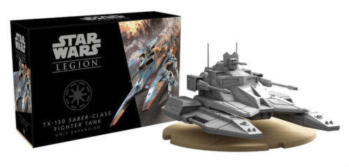 Star Wars Legion Expansion: TX-130 Saber-Class Fighter Tank Unit