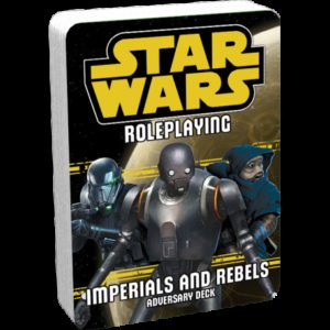 Star Wars Roleplaying: Imperials and Rebels III Adversary Deck