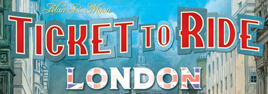 Video – Ticket to Ride: London Unboxing