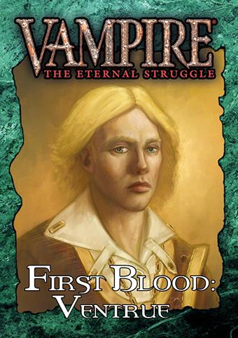 Vampire: The Eternal Struggle Expansion - First Blood: Ventrue