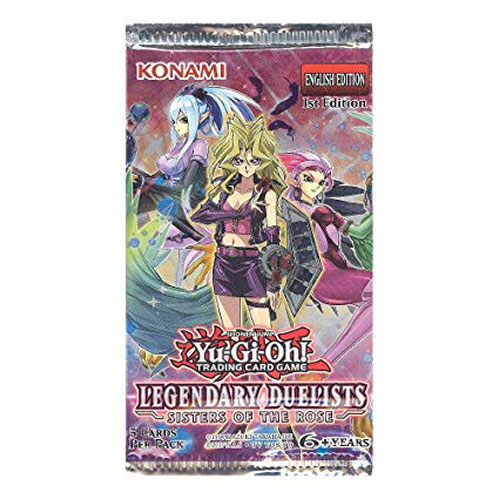 YGO Legendary Duelists: Sisters of the Rose Booster Pack