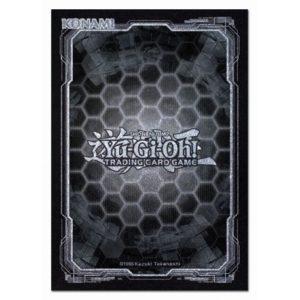 YGO TCG Dark Hex Black and Silver Card Sleeves - Inner Case