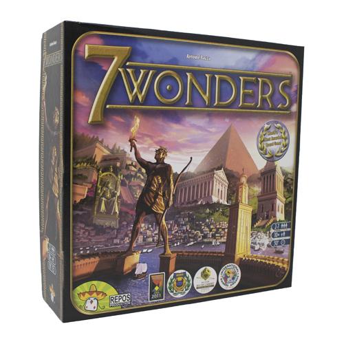 7 Wonders | Board Game | Party & Family | Zatu Games UK