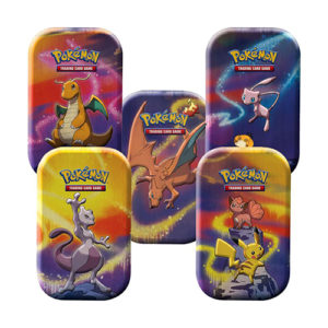 Pokemon TCG: Kanto Power Mini Tin - Set of 5