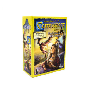 Princess & The Dragon : Carcassonne Exp. 3