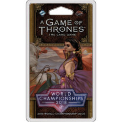 A Game of Thrones LCG 2nd Edition: 2018 Joust World Championship Deck