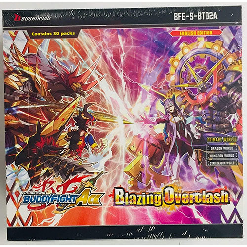 BFE Future Card Ace Booster Pack Alternative Vol 2 Blazing Overclash