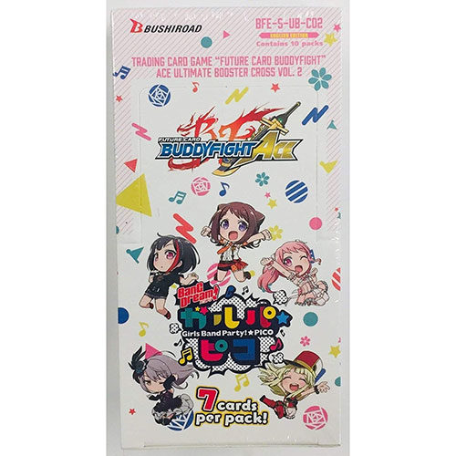BFE Future Card Buddyfight Ace Ultimate Booster Box Cross Vol 2 BanG Dream Girls Band Party PICO