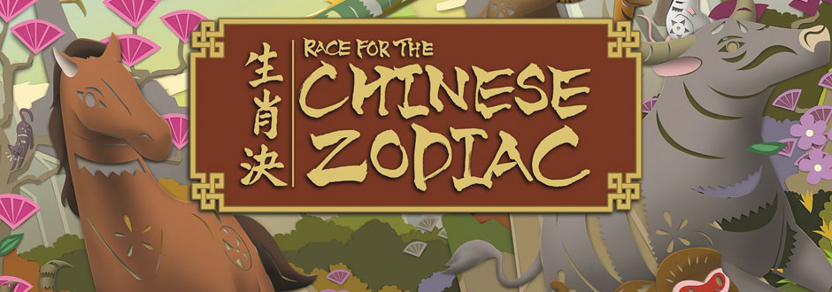 Capstone Games - Race for the Chinese Zodiac