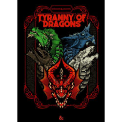 D&D Tyranny of Dragons (Alternate Cover)