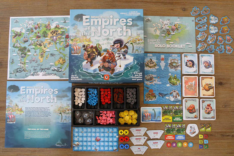 Empires of the North - Game Contents